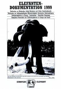 ELEFANTEN-SCHUTZ EUROPA e.V. 1999