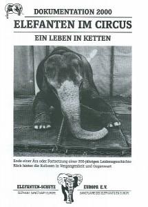 ELEFANTEN-SCHUTZ EUROPA e.V. 2001